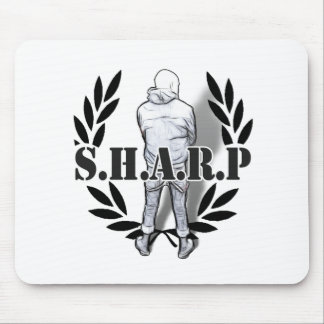 sharp skin standing mouse pad