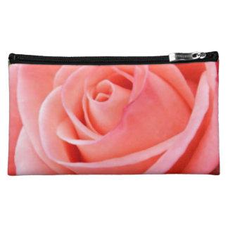 Sharp Solo Pink Rose Image Makeup Bag