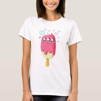 Sharp Teeth Monster Ice Cream Cone T-Shirt