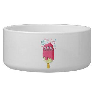Sharp Teeth Monster Ice Cream Popsicle Bowl