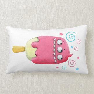 Sharp Teeth Monster Ice Cream Popsicle Pillow