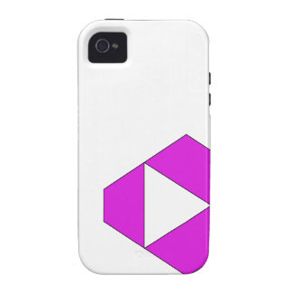 Sharp Violet iPhone 4 Cover