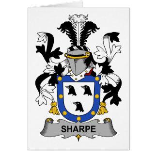 Sharpe Family Crest Card