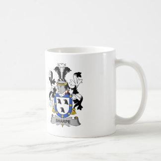 Sharpe Family Crest Coffee Mug
