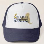 """Sharpe/Hollister Trucker Hat<br><div class=""""desc"""">Support Team Sharpe!</div>"""