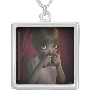 SHARPE Yummy Spider Square Necklace