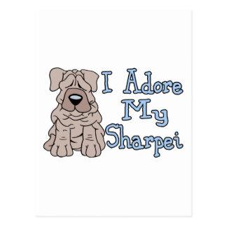 Sharpei Adoration Postcard