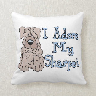 Sharpei Adoration Throw Pillow