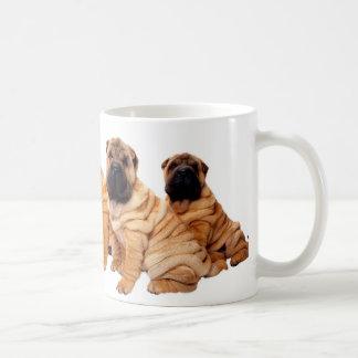Sharpei Pups Coffee Mug