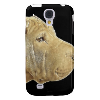 Sharpei Watercolor Fractal iPhone3G Cover Galaxy S4 Cases
