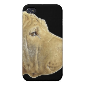 Sharpei Watercolor Fractal iPhone4 Cover iPhone 4 Covers