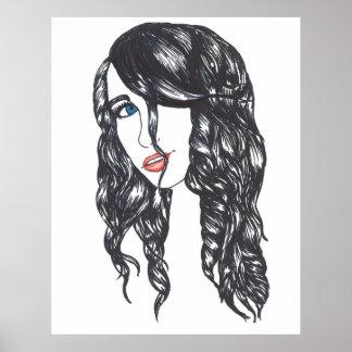 "Sharpie All Over Poster Matte (32"" x 40.73"")"