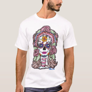 "Sharpie Sugar Skull ""Day of the Dead"" Shirt"