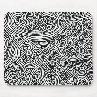 Sharpie Swirls Mouse Pad
