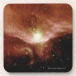 Sharpless 140 Nebula Beverage Coasters
