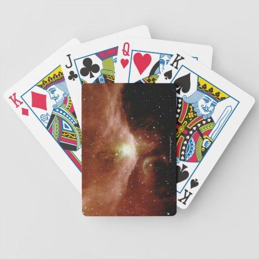 Sharpless 140 Nebula Bicycle Playing Cards