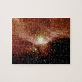 Sharpless 140 Nebula Puzzles