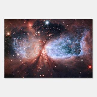 Sharpless 2-106 Nebula Star Space Signs