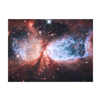 Sharpless 2-106 Nebula Stars Space Stretched Canvas Prints