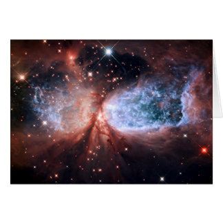 Sharpless 2-106 Nebula Stars Space Card