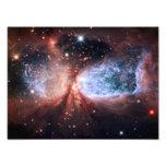 Sharpless 2-106 Nebula Stars Space Photo