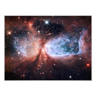 Sharpless 2-106 Nebula Stars Space Photo Print