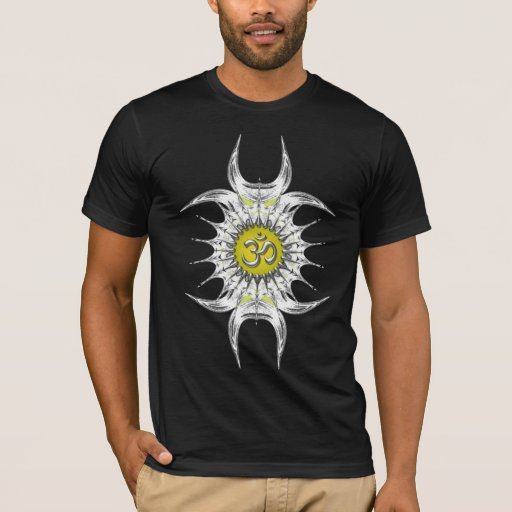 Sharpozia Silver Om Shirt
