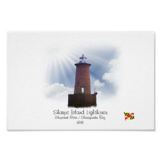 Sharps Island Lighthouse Poster