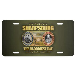 Sharpsburg (FH2) Placa De Matrícula
