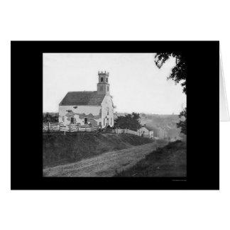 Sharpsburg, MD Lutheran Church 1862 Greeting Card