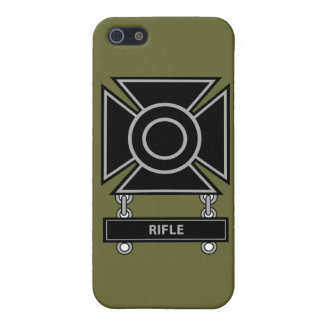 Sharpshooter Badge w/Rifle Bar Cover For iPhone SE/5/5s