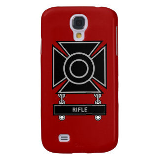 Sharpshooter Badge w/Rifle Bar Galaxy S4 Cover