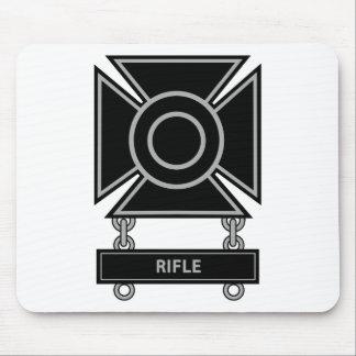 Sharpshooter Badge w/Rifle Bar Mouse Pad
