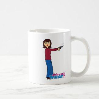 Sharpshooter Classic White Coffee Mug