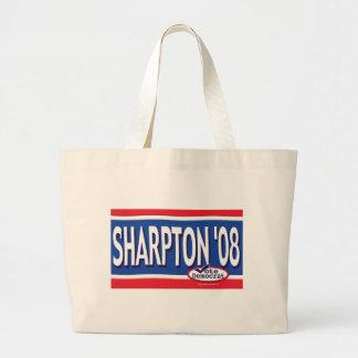 Sharpton 2008 Bag Jumbo Tote Bag