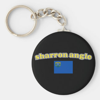 Sharron Angle for Nevada Basic Round Button Keychain