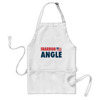 Sharron Angle Patriotic Adult Apron