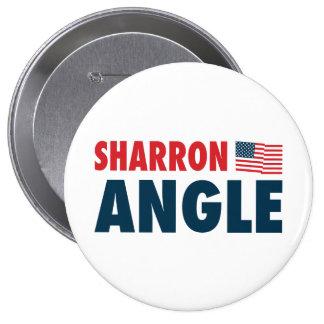 Sharron Angle Patriotic Button