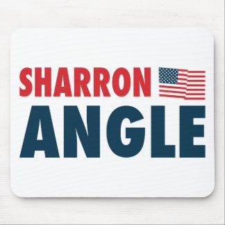 Sharron Angle Patriotic Mouse Pad
