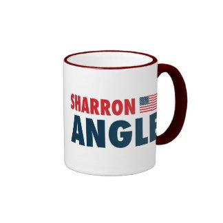 Sharron Angle Patriotic Coffee Mugs