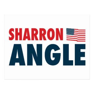 Sharron Angle Patriotic Postcard