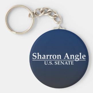 Sharron Angle U.S. Senate Basic Round Button Keychain