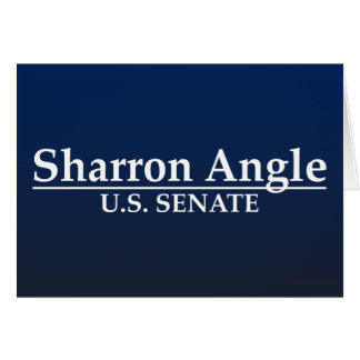 Sharron Angle U.S. Senate Card