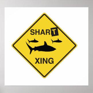 Shart Crossing Poster