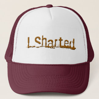 sharted trucker hat