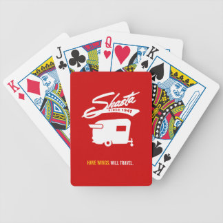Shasta Camper RV Cards Bicycle Playing Cards