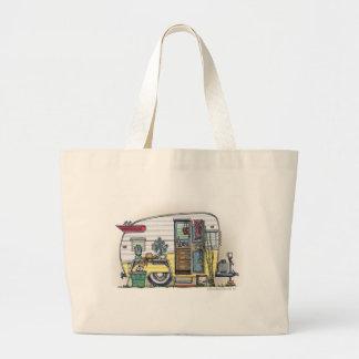 Shasta Camper Trailer RV Bags/Totes Jumbo Tote Bag
