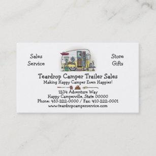 Rv business cards templates zazzle shasta camper trailer rv business card colourmoves