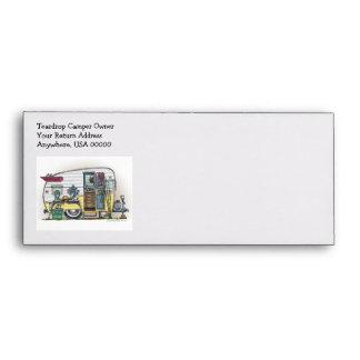 Shasta Camper Trailer RV Envelopes