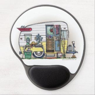 Shasta Camper Trailer RV Gel Mouse Pad